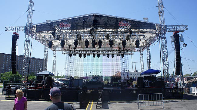 Lmf Audio Staging For Your Indoor Or Outdoor Event Nj